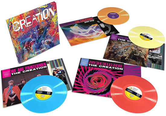 The Creation – Creation Theory limited edition vinyl box set