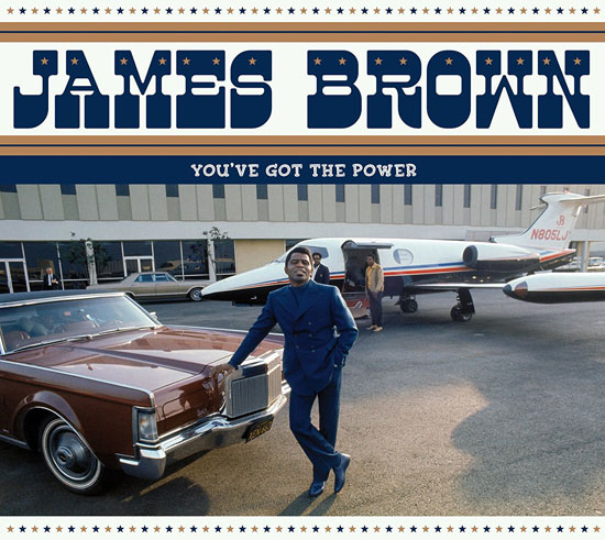 James Brown - You've Got The Power budget CD box set