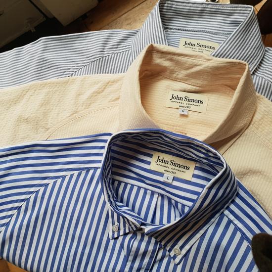 John Simons 1960s archive button-down shirts