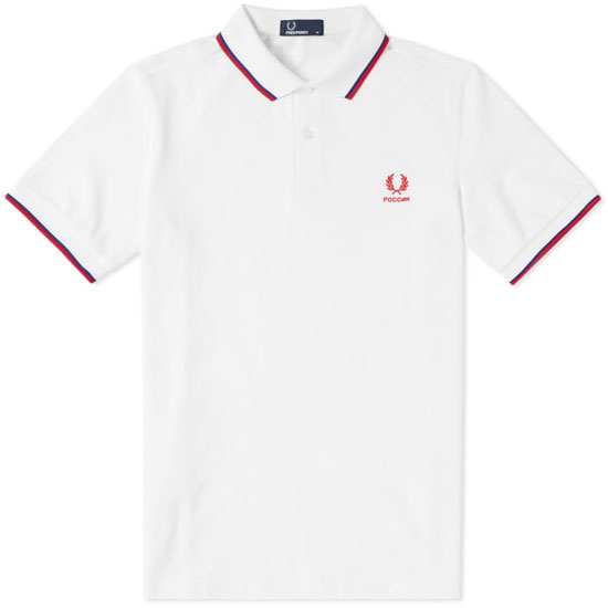 Fred Perry World Cup polo shirts return to the shelves