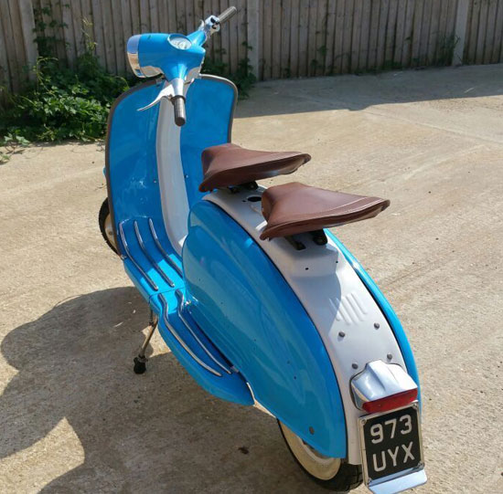 Italian 1961 Lambretta Li 125 scooter on eBay