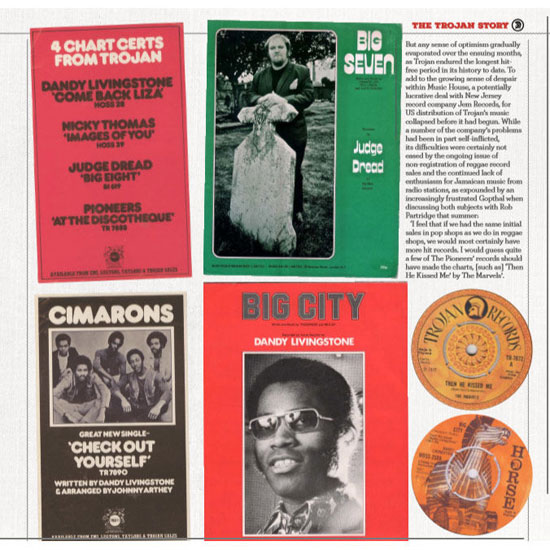 The Story Of Trojan Records coffee table book