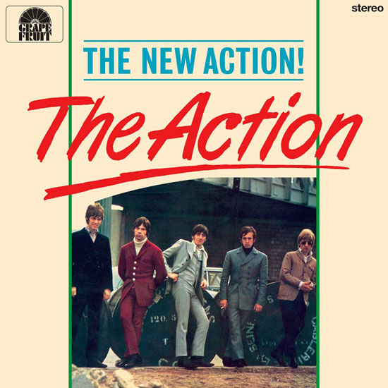 The Action - The New Action! limited edition vinyl