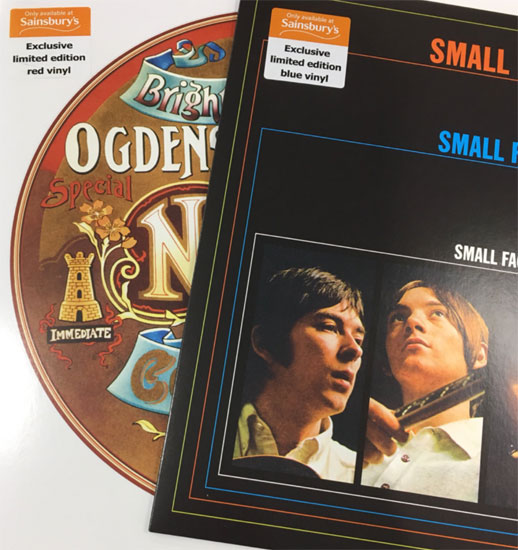 Sainsbury's offers exclusive Small Faces coloured vinyl
