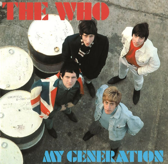 The Who vinyl heavily discounted at HMV