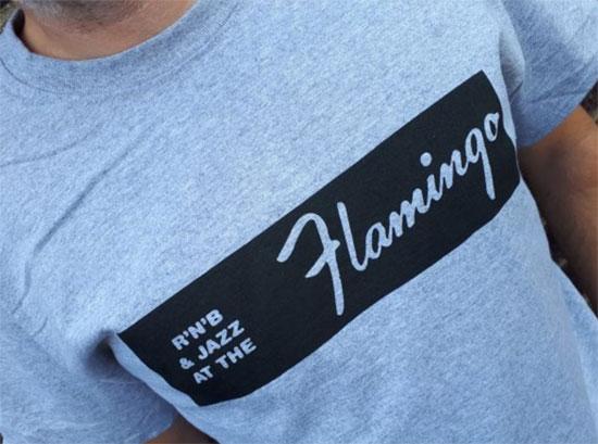 Flamingo Club t-shirt by Gama Clothing