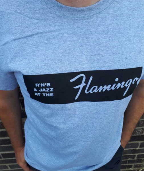 Flamingo Club t-shirt by Gama Clothing