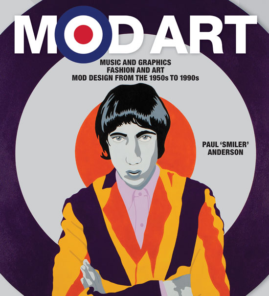 Limited edition Mod Art book by Paul Anderson