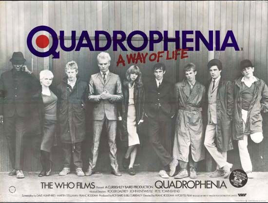 Quadrophenia film cinema screening in London