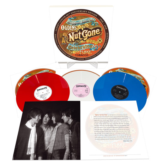 Small Faces - Ogdens' Nut Gone Flake 50th anniversary vinyl and CD sets