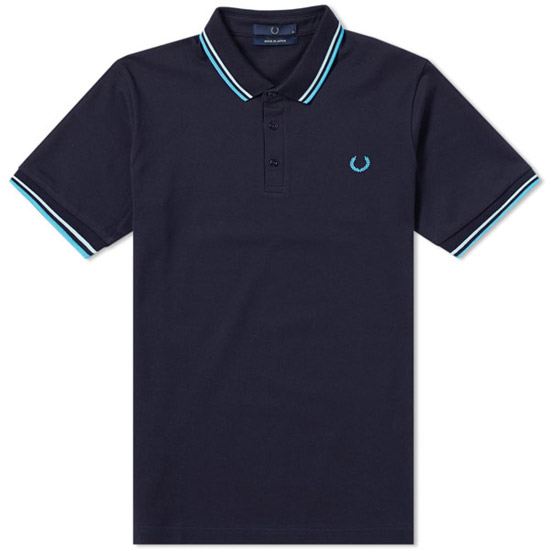 On the shelves: Fred Perry Made in Japan polo shirts