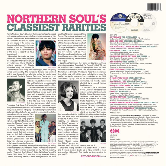 Heading to vinyl: Northern Soul's Classiest Rarities (Kent)