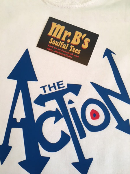 Mod and 60s t-shirts from Mr. B's Soulful Tees