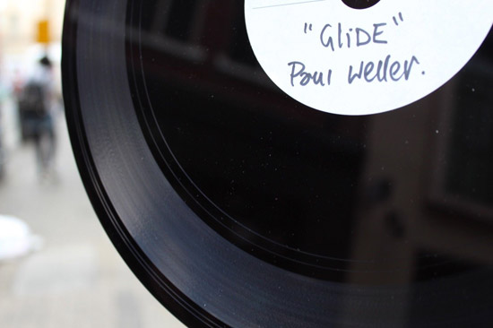 Paul Weller on-off vinyl acetate on eBay