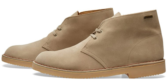 4fedc0ff501 Clarks Gore-Tex desert boots now in the Clarks Outlet - Modculture