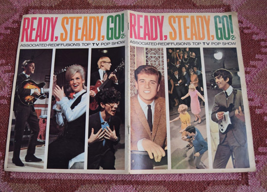First two issues of Ready Steady Go! magazine on eBay