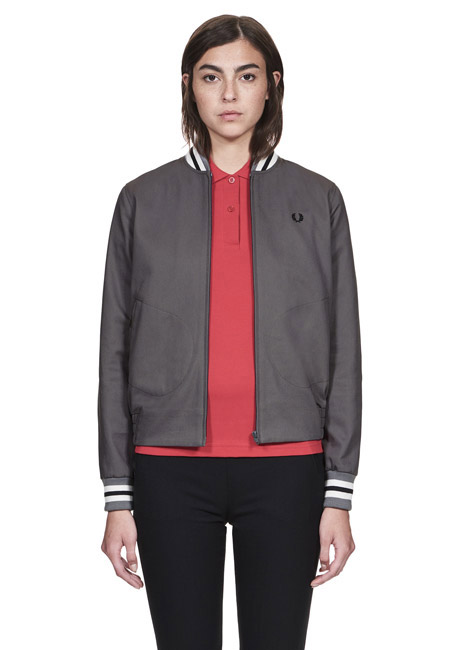 Fred Perry introduces tennis bomber jacket for women