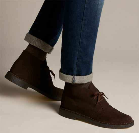 Black Friday: 25 per cent off Clarks desert boots