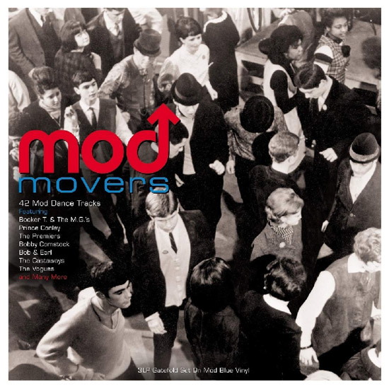 Mod Movers three-LP blue vinyl box set
