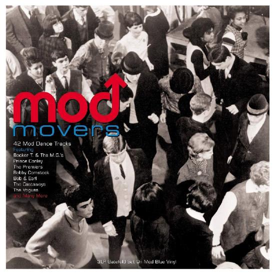 Mod Movers three-LP blue vinyl box set