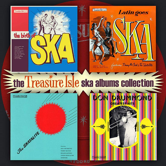 Coming soon: The Treasure Isle Ska Albums Collection