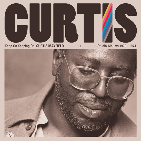 Curtis Mayfield - Keep On Keeping On box set incoming