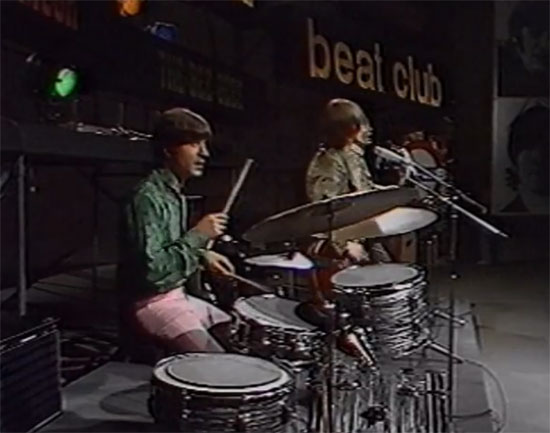 Video: Small Faces on Beat Club - now in colour