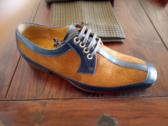 McLagan handmade shoes by Dr Watson Shoemaker