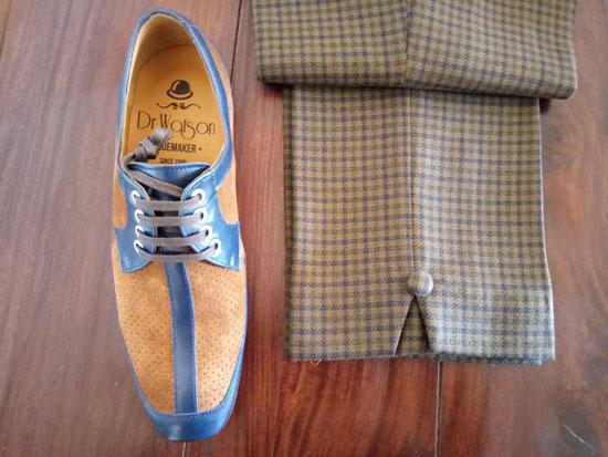 McLagan handmade shoes by Dr Watson Shoemaker