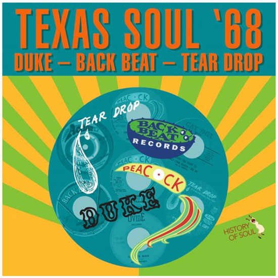 Various artists - Texas Soul '68
