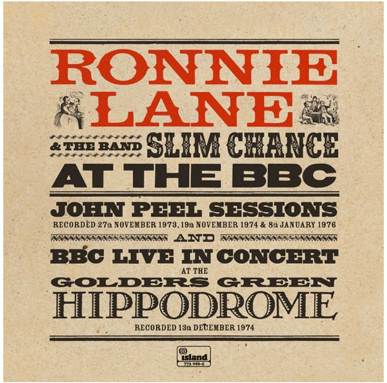 Ronnie Lane And The Band Slim Chance - At The BBC