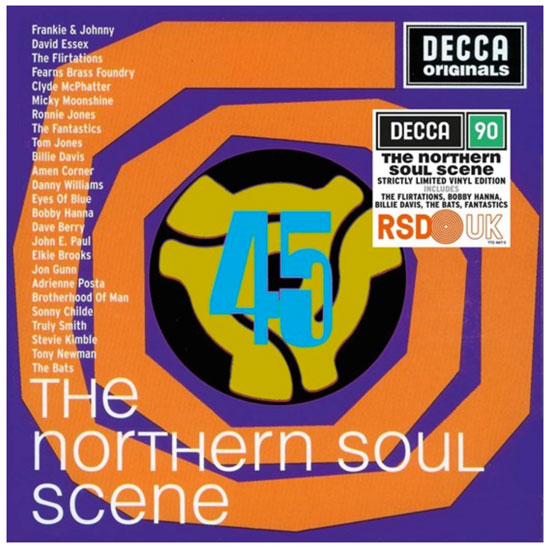 Various artists - The Northern Soul Scene double album