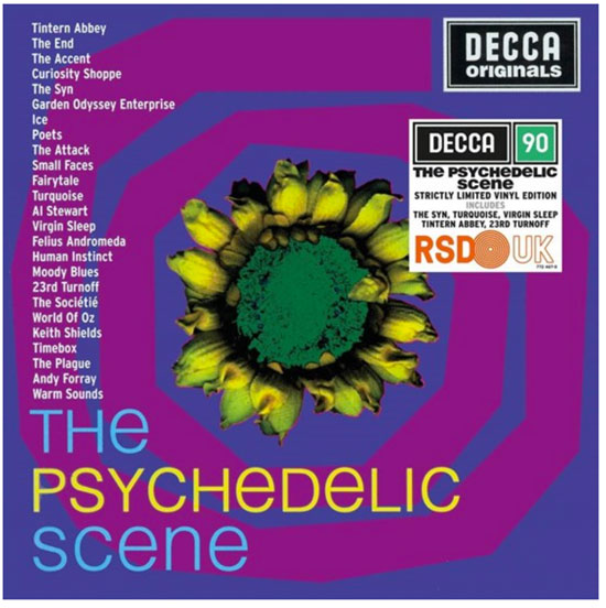 Various artists - The Psychedelic Scene double album