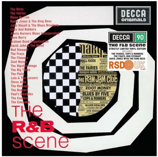 Various artists - The R&B Scene double album