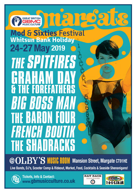 Margate Mod and Sixties Festival 2019