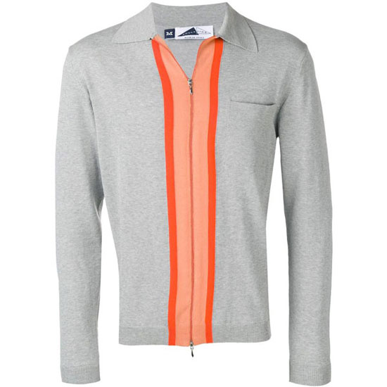 Anglozine 1960s-style Decima zip cardigan