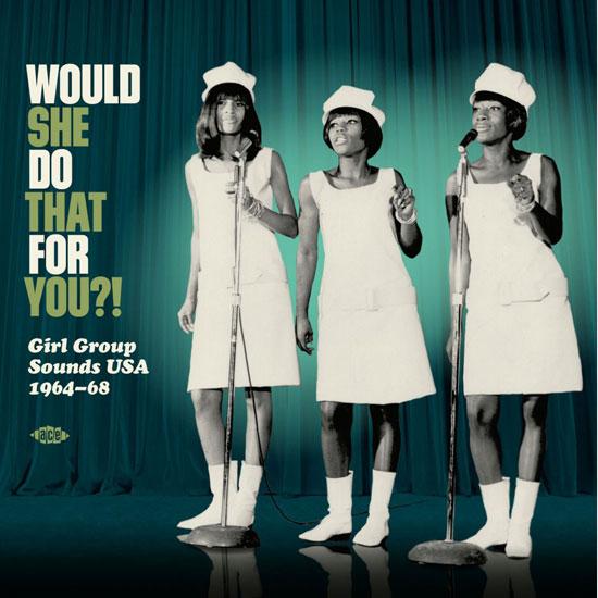 Vinyl release: Girl Group Sounds USA 1964-68