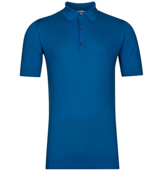 Heavily discounted John Smedley polo shirt