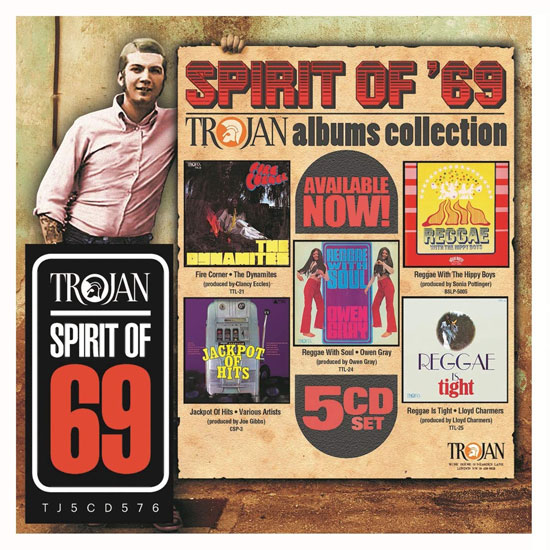 Spirit of '69 albums collection by Trojan Records
