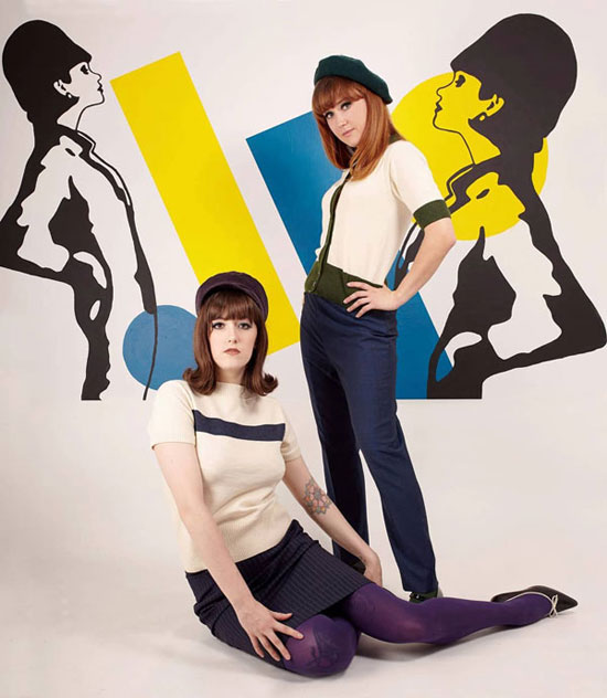 Classic 1960s style by the Dorian Boutique