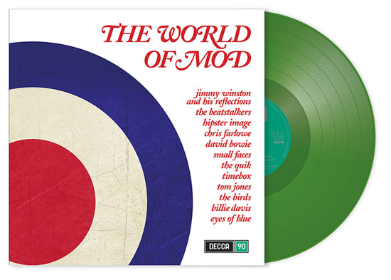 Various Artists: World of Mod on green vinyl
