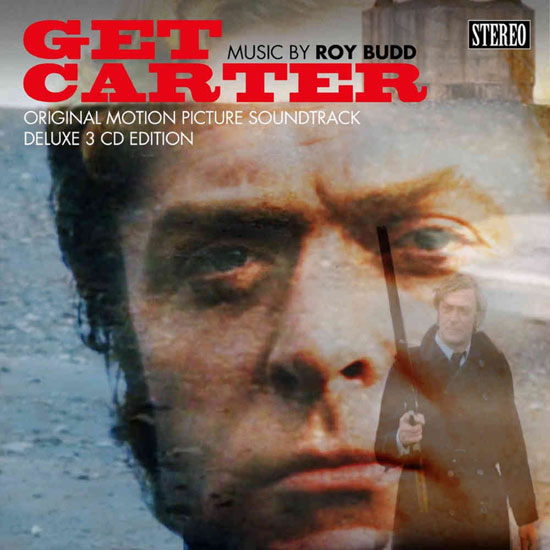 Get Carter soundtrack deluxe 3-CD reissue with book