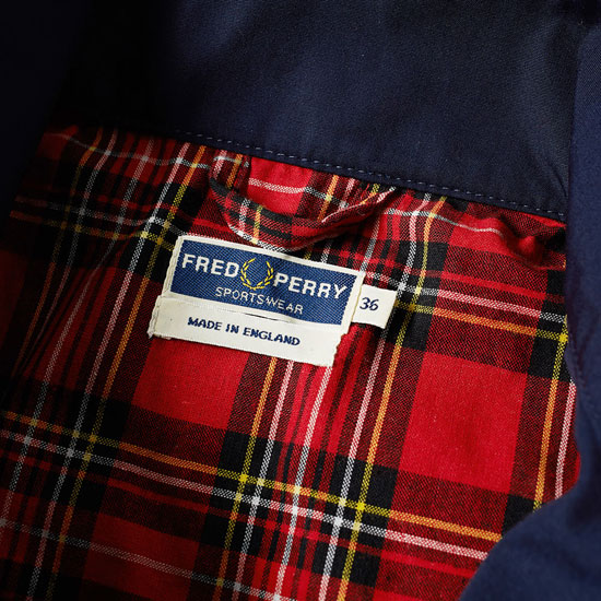 Discounted: Fred Perry Reissues Made in England Harrington Jacket