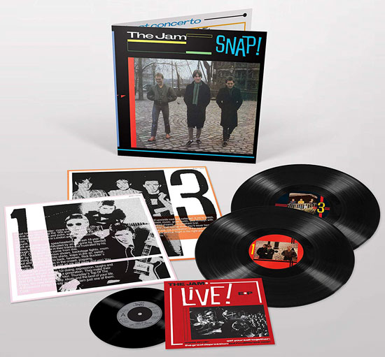 Snap! by The Jam gets a heavyweight vinyl reissue