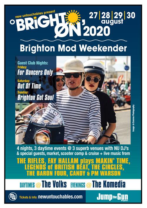Brighton Mod Weekender 2020