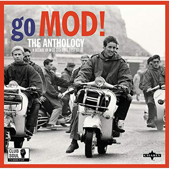 Go Mod! heavyweight vinyl set by Charly Records