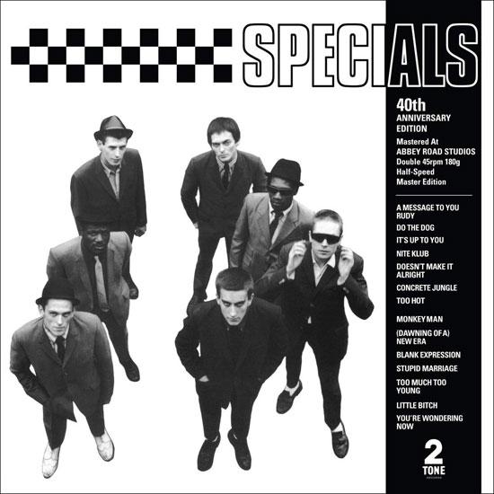 Special edition half-speed master of the album Specials