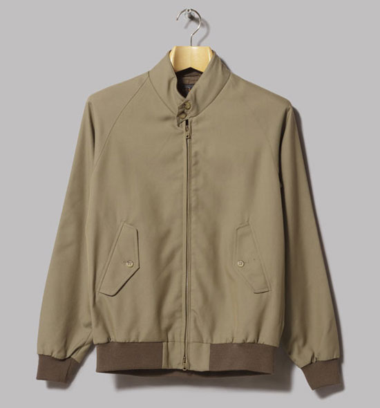 Classic wool harrington jacket by Beams Plus