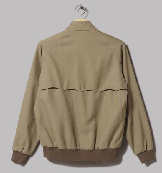 Classic wool harrington jacket by Beams Plus