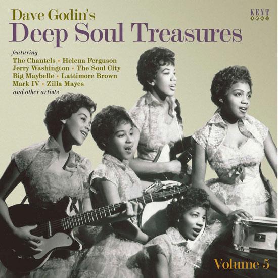 Dave Godin's Deep Soul Treasures 5 CD (Kent)